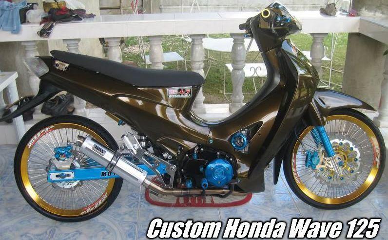 Gambar Modifikasi Sepeda Motor Karisma