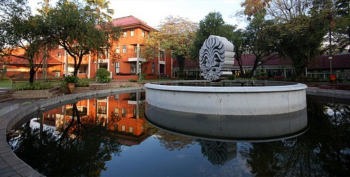 UI logo fountain
