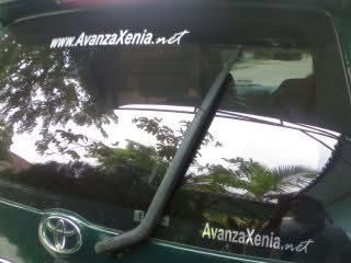 rear wiper avanza g